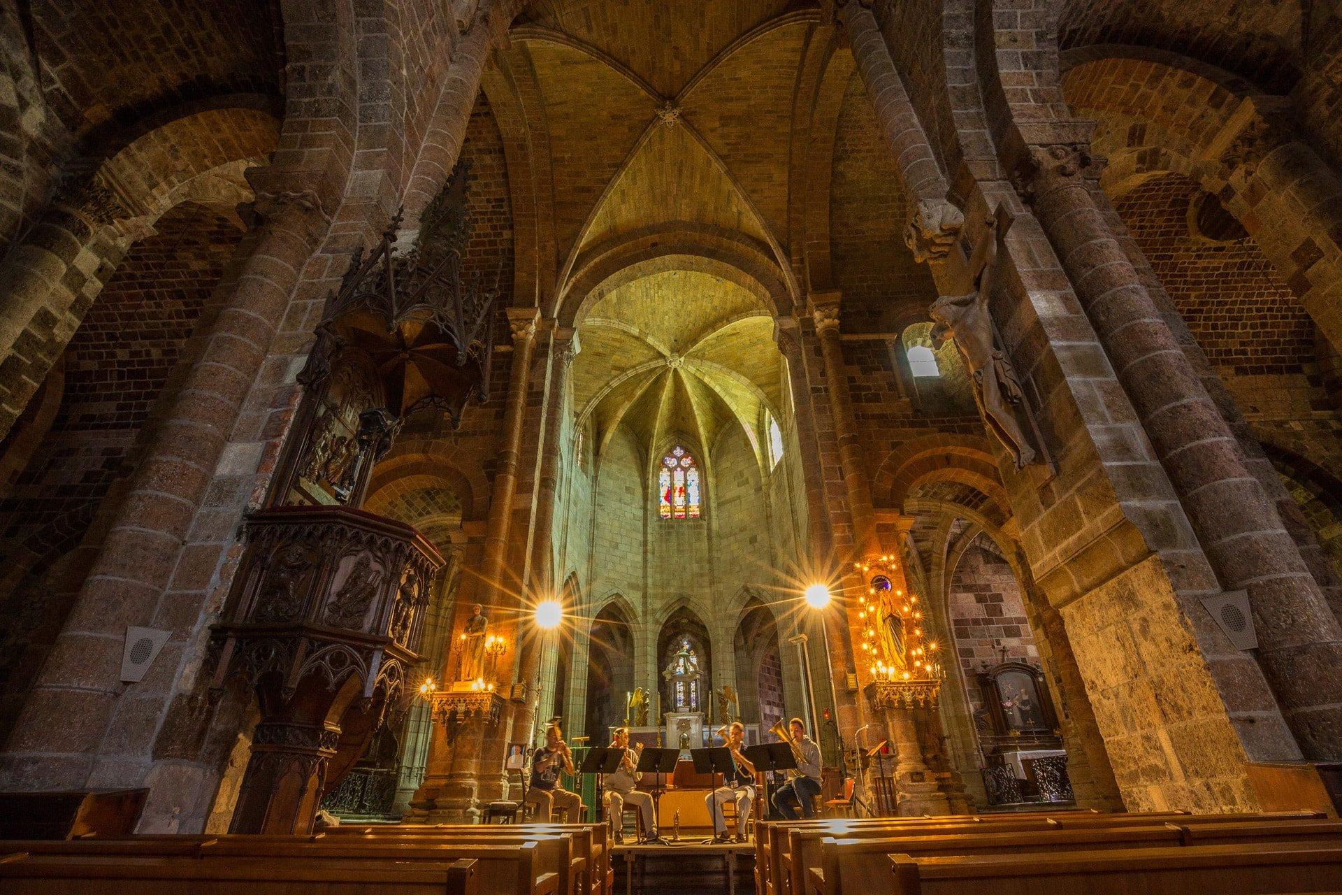Eglise Abbatiale St Chaffre Monastier/Gazeille